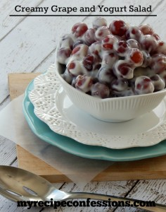 Creamy Grape and Yogurt Salad