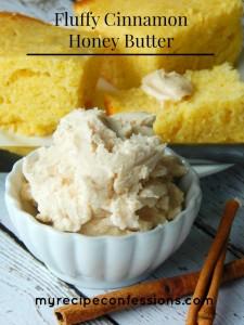 Fluffy Cinnamon Honey Butter