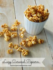 Lazy Caramel Popcorn