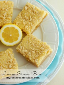 Lemon Cream Bars