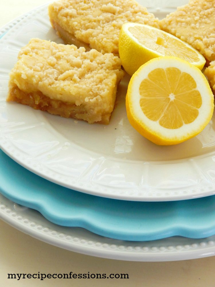 Lemon Cream Bars. These are incredible! They are worth every second it you spend making them in the kitchen! Every time I make them they are gone within a few minutes. This is one of those recipes that you will want to make over and over again!
