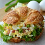 Easy Bacon Egg Salad Sandwich