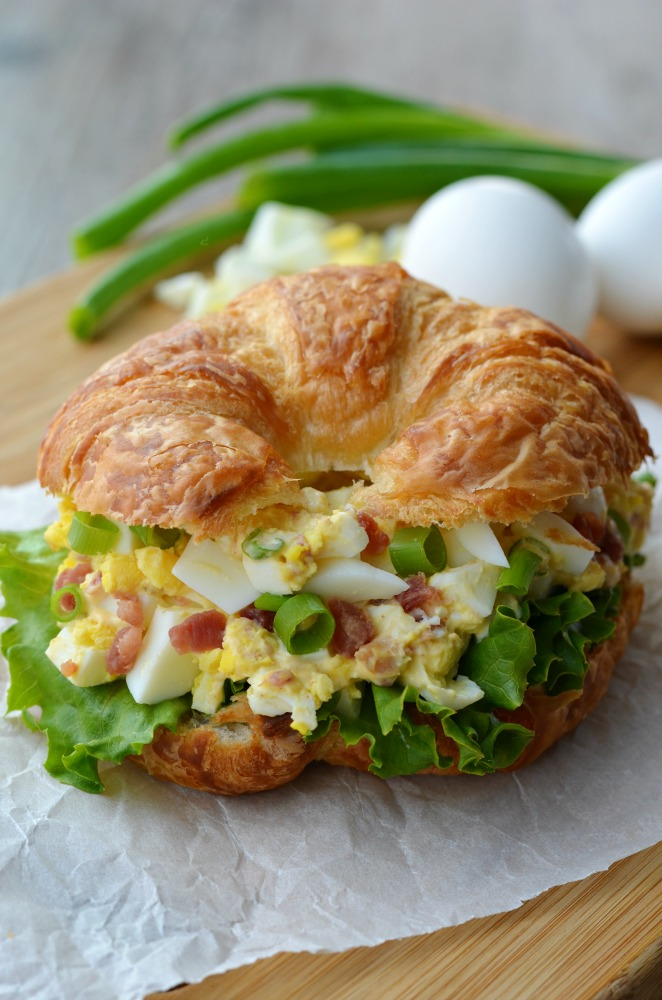 Easy Bacon Egg Salad Sandwich - My Recipe Confessions