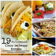 19 Cinco de Mayo Entrees