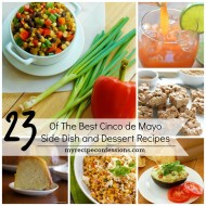 Cinco de Mayo Side Dishes and Desserts