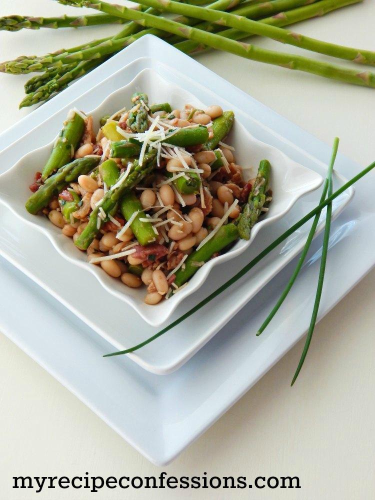 Asparagus and White Bean Salad Recipe