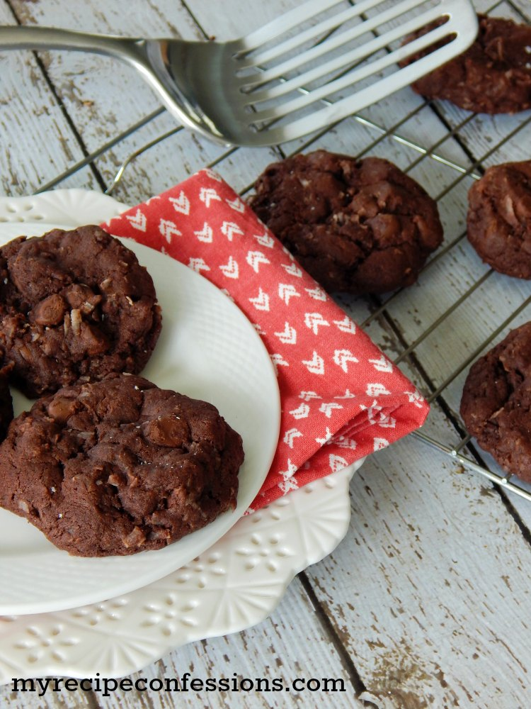 Chocolate Coconut Cookie Recipe