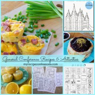 General Conference Recipes and Activities