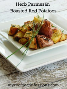 Herb Parmesan Roasted Red Potatoes
