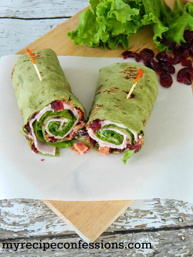 My Recipe Confessions Smoked Turkey Wrap