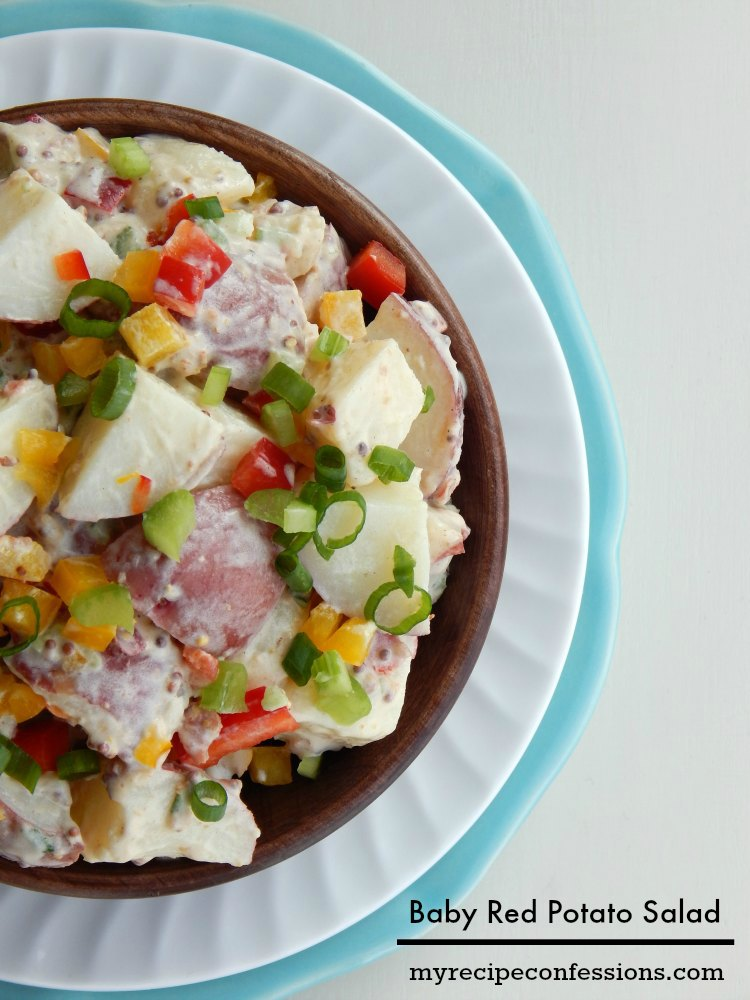 Baby Red Potato Salad - My Recipe Confessions