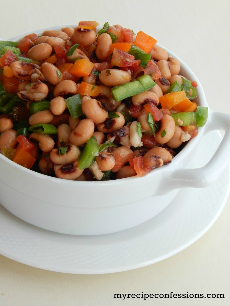 Black Eyed Pea Salad - My Recipe Confessions