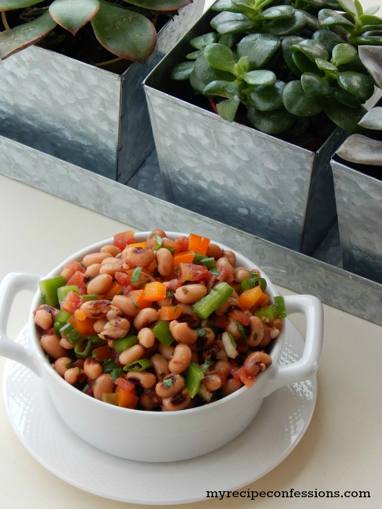 Black Eyed Pea Salad - My Recipe Confessions