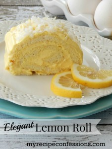 Elegant Lemon Roll