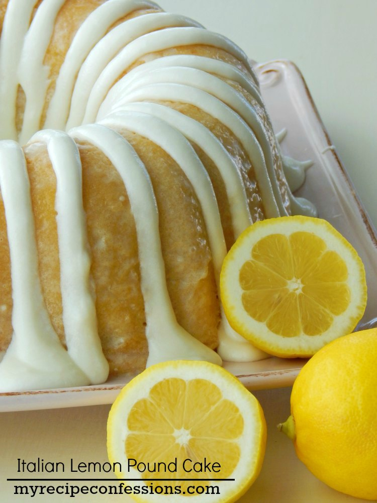 Pineapple Lemon Pound Cake