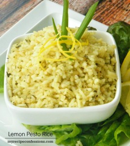 Lemon-Pesto-Rice