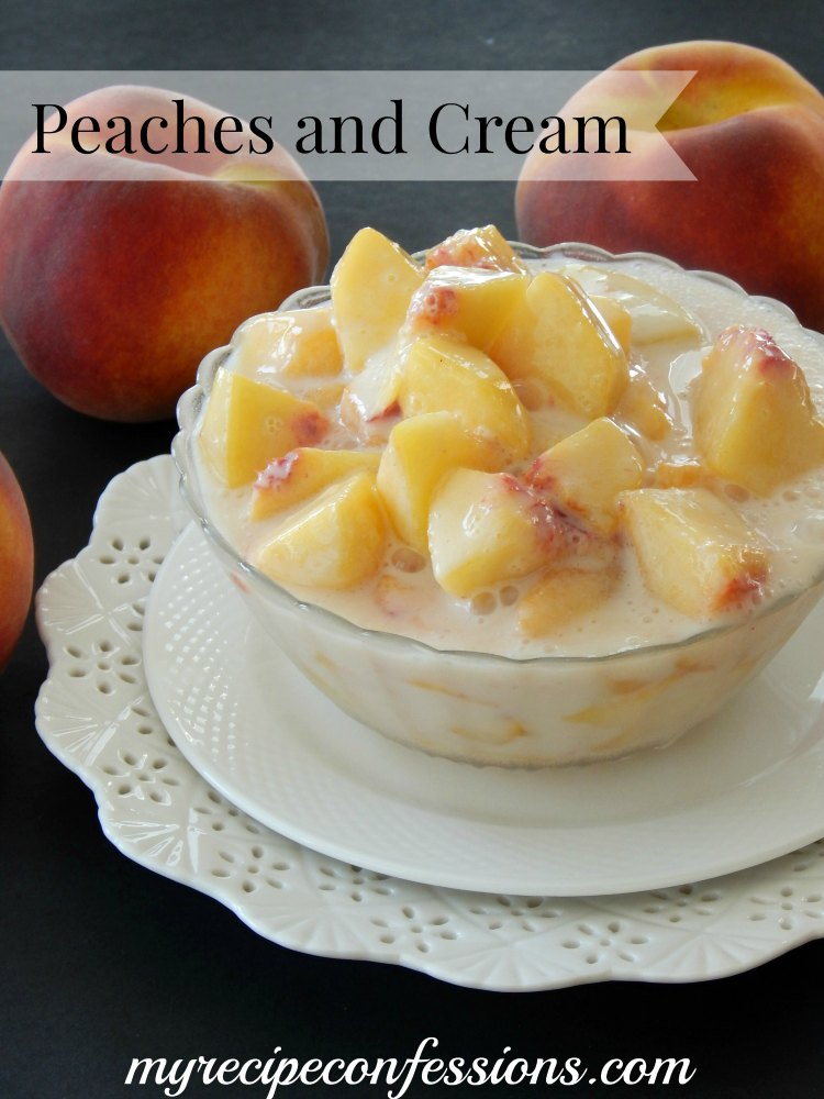 Peaches and cream website