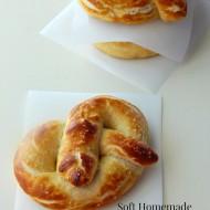 Soft Homemade Pretzels