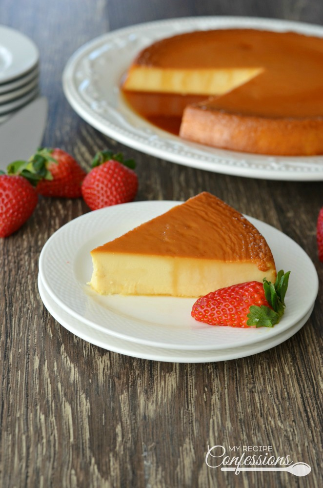Creamy spanish flan my recipe confessions creamy spanish flan is the best recipe ever the cream cheese in this forumfinder Images
