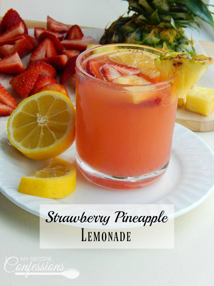 Strawberry Pineapple Lemonade is the ultimate summer drink! It is the perfect way to quench your thirst on a hot summer day. One of the great things about this recipe is the is so quick and easy. The other fruit punch drinks don't even compare!
