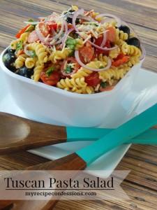 Tuscan Pasta Salad