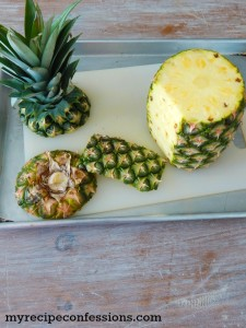 How to Pick and Cut Pineapple-Summer isn't the same without some refreshing pineapple. It can be so frustrating trying to pick out a good pineapple. Then you have to cut it which can be a nightmare. This tutorial shows how to pick a yummy pineapple and cut it the right way. It will make eating pineapple so much eaiser!