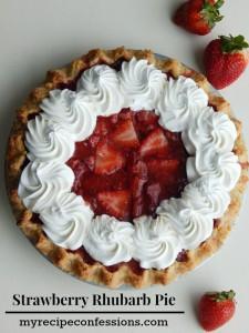 Strawberry-Rhubarb-Pie