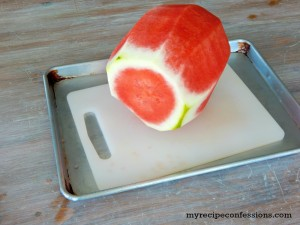 How To Cut Watermelon Like A Pro. Summer just isn't the same without a refreshing watermelon! I always hated cutting watermelon because it got everything sticky. When I learned how to cut watermelon like a pro I was shocked at how simple and easy it was. Now I no longer have a sticky kitchen after cutting up a watermelon.