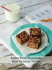 Andes-Mint-Rice-Krispie-Treats