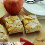 Apple Pie Cream Bars