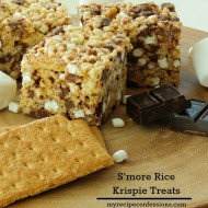 S'more Rice Krispie Treats