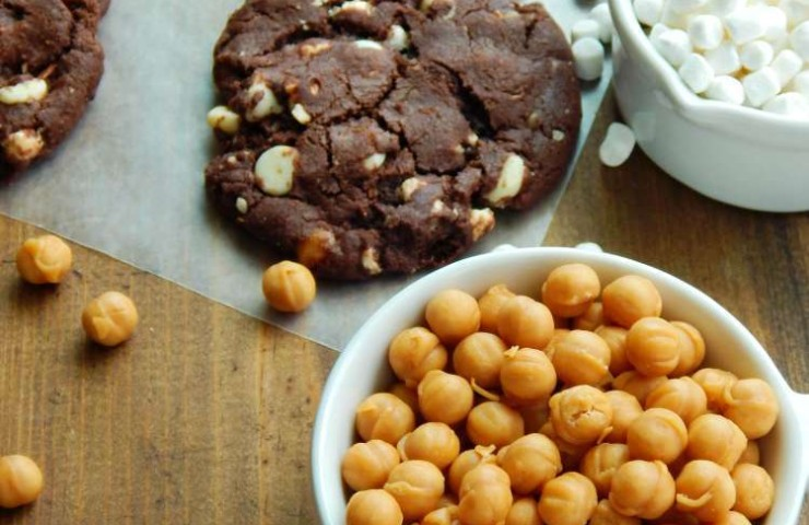 Soft and Chewy Rocky Road Cookies