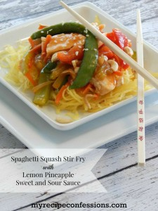 Spaghetti-Squash-Stir-Fry-with-Lemon-Pineapple-Sweet-and-Sour-Sauce