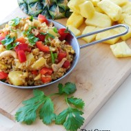 Thai Curry Pineapple Fried Rice