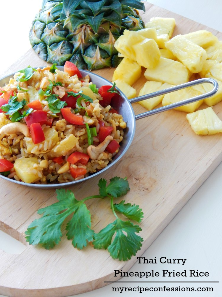 Thai-Curry-Pineapple-Fried-Rice