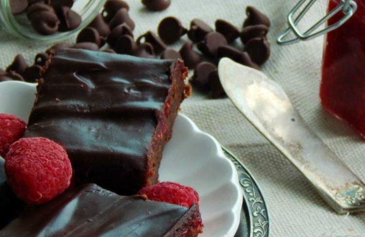 Gourmet Raspberry Brownies with Raspberry Ganache