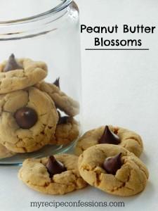 Peanut-Butter-Blossoms