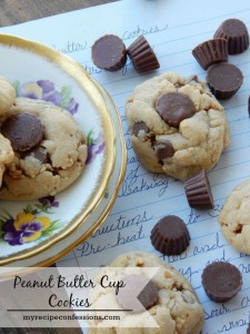 This Peanut Butter Cup Cookies recipe is the best one out there! They are so soft and chewy even a few days later. They are so dang addicting! They make the perfect dessert for any occasion.