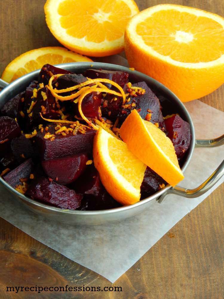 Roasted Beets with Balsamic Orange Glaze are one of those recipes that ...