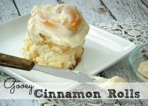 Soft and Gooey Cinnamon Rolls