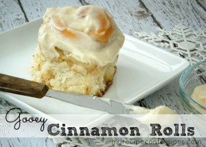 Soft and Gooey Cinnamon Rolls
