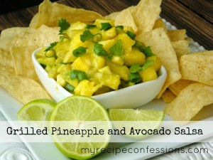 Grilled Pineapple and Avocado Salsa