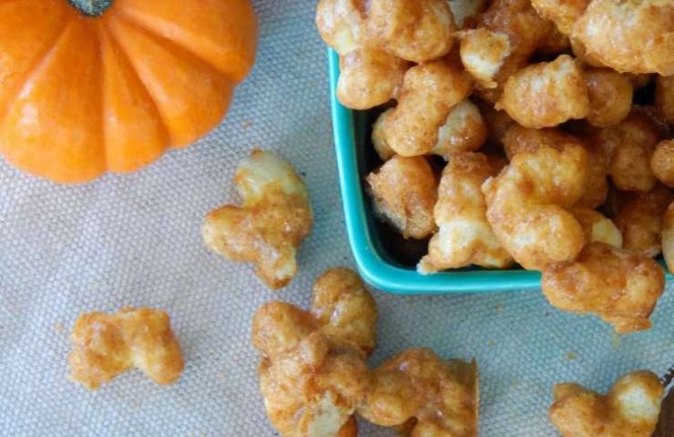 Pumpkin Spice Caramel Corn Pops