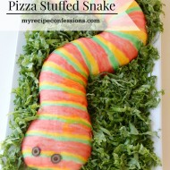 Pizza Stuffed Snake