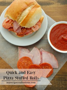 30 minute Pizza Stuffed Rolls is one of those dinner recipes that kids go crazy over! Who am I kidding, adults love it too. It is an easy dinner that can be made in 30 minutes or less. It is one of those recipes that is perfect for those busy night when you don't have a lot of time to make dinner.
