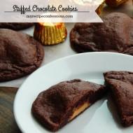 Stuffed Chocolate Cookies