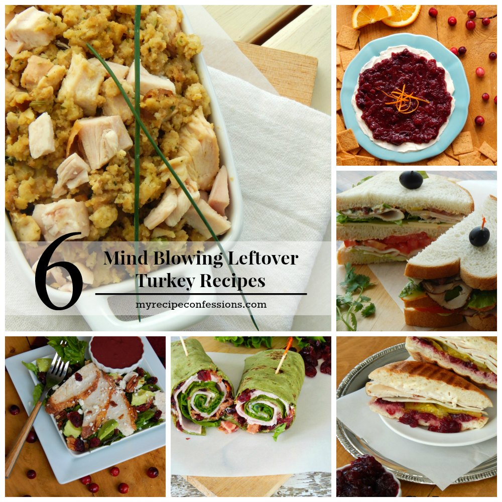 6 Mind Blowing Leftover Turkey Recipes. Thanksgiving is my favorite holiday because it is centered on food and family. I love all the yummy thanksgiving recipes. The only problem is figuring out what to do with all the leftovers. I have the perfect solution for you. These recipes solves that problem. Who doesn't love an easy dinner?