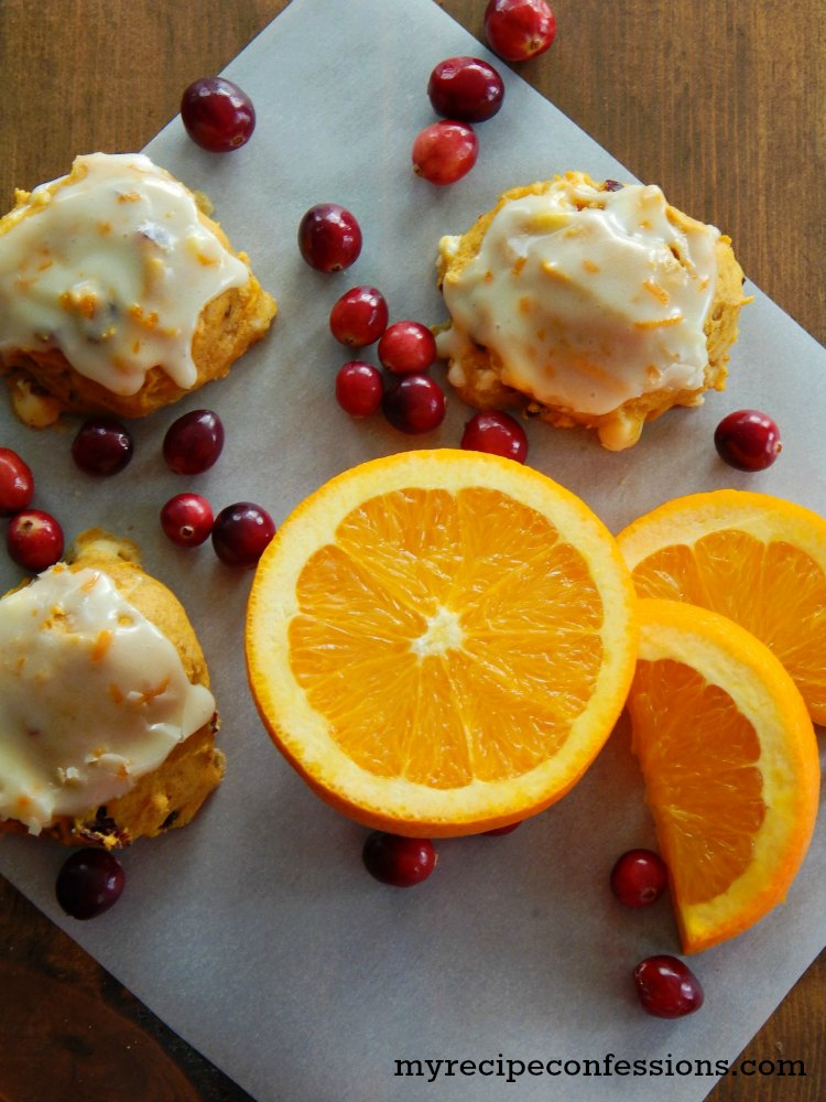 Pumpkin Orange Cranberry Cookies Recipe — Dishmaps