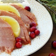 3 Ingredient Tender Crock Pot Ham