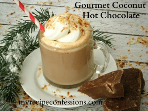 Gourmet Coconut Hot Chocolate